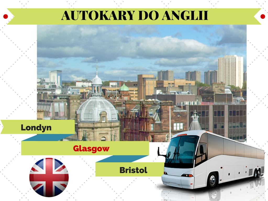 Polska - Glasgow, tanie przewozy autokarowe do Anglii
