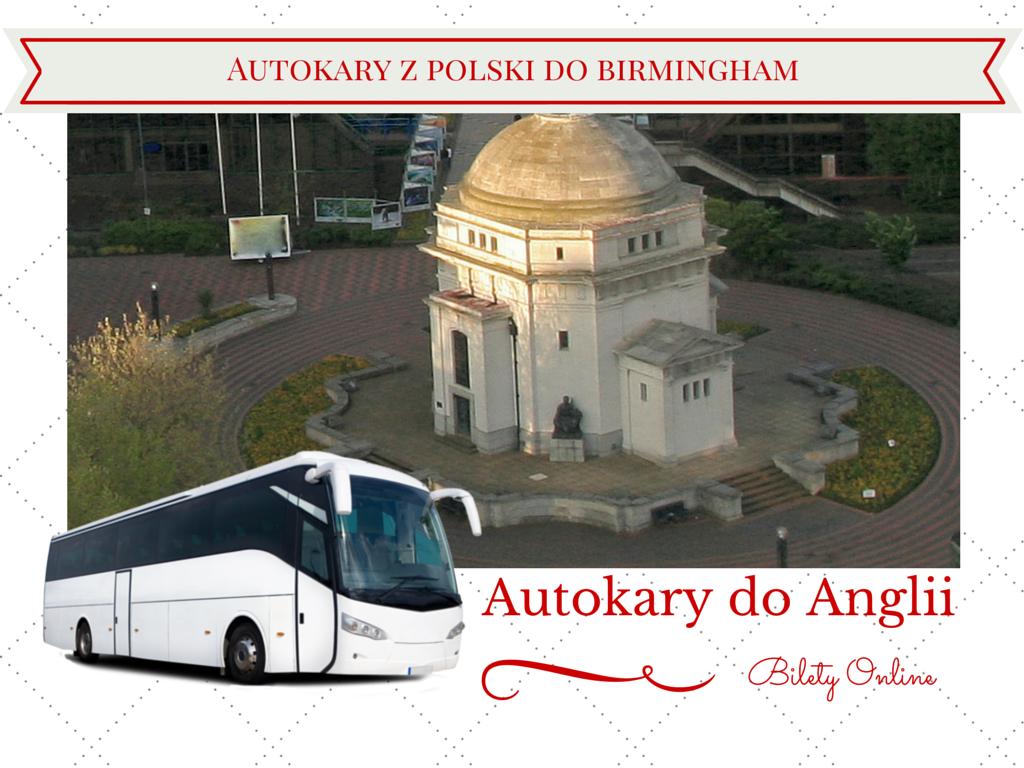 Autokarydo Anglii - Birmingham