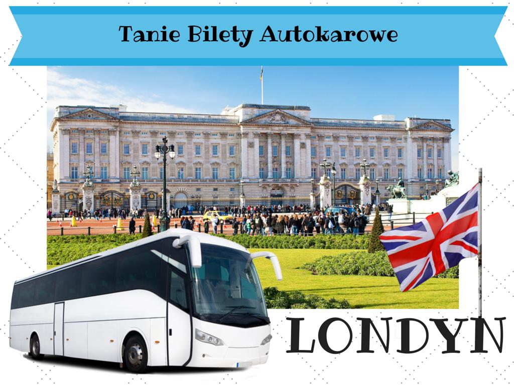 Polska - Londyn tanie bilety autokarowe do Londynu