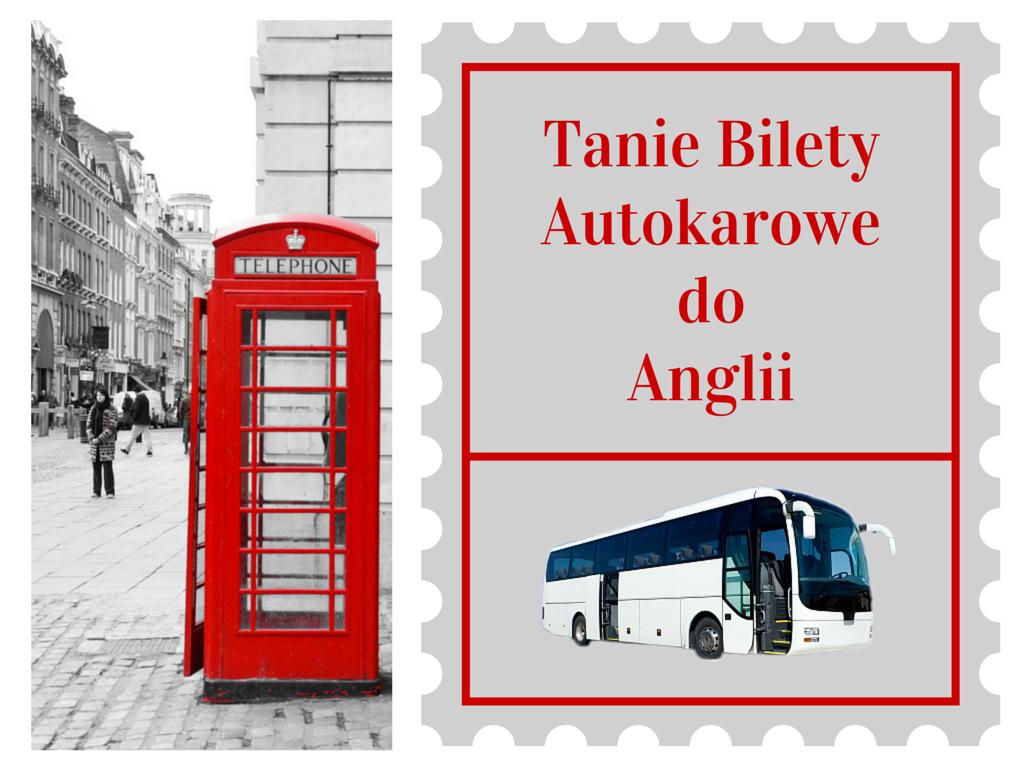 Przewozy autokarowe do Anglii. bilety online