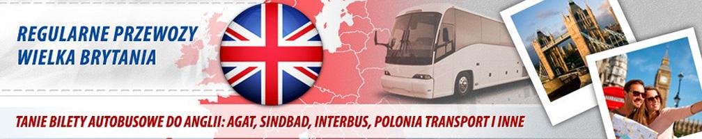 Bilety Autokarowe do Anglii