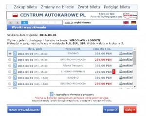 bilety autokarowe wroclaw londyn
